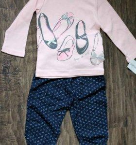 Новая одежда для девочки Carters, США, 12 м
