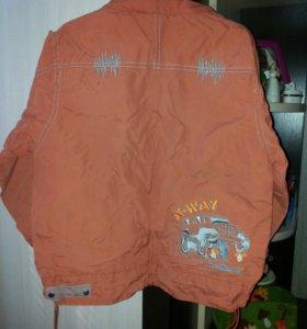 Куртка ветровка 116р