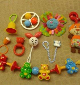 Погремушки, игрушки