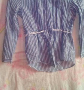 Рубашка в полоску