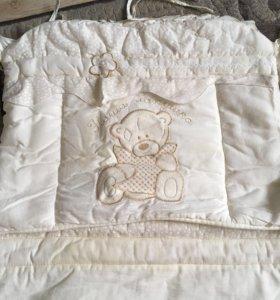 Комплект в кроватку Золотой Гусь