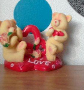 """Статуэтка """"Мишки LOVE"""""""