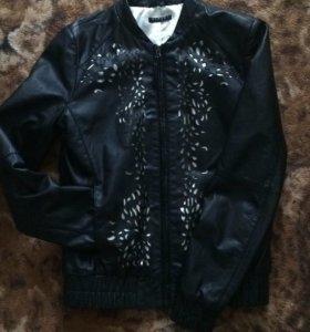 Куртка новая !!! Натуральная  кожа !