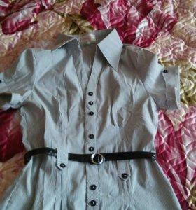 Рубашка с ремешком44р.
