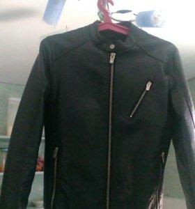 Куртка кожаная,фирма Zara,размер 46-48продается