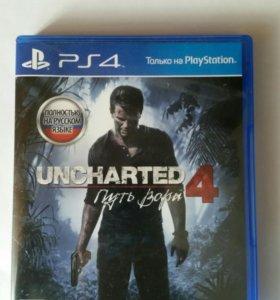 "Ps4 игра Uncharted 4 ""путь вора"""