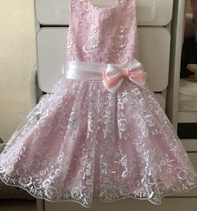Платье на годик для принцессы
