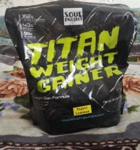 Гейнер Titan Weight Gainer 7 kg