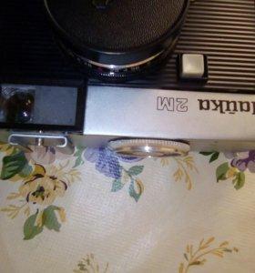 Раритетный фотоаппарат Чайка