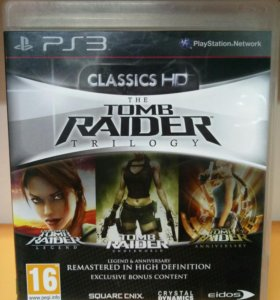 Tomb Rider HD Trilogy PS3