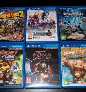 Игры для Sony PS Vita (Вита)