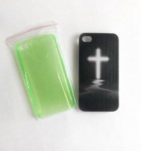 Чехлы пластиковые на iphone 4-4s