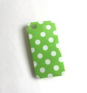 Резиново-пластиковый чехол на iphone 4-4s
