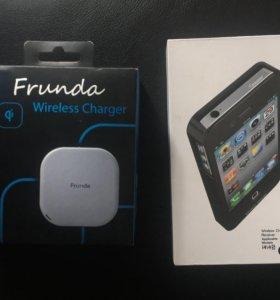 Беспроводное зарядное устройство Iphone 4,4s