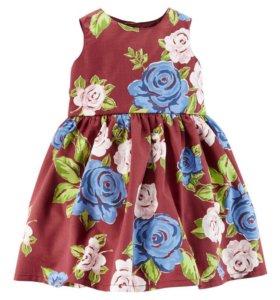 Платье Carter's размер 12месяцев