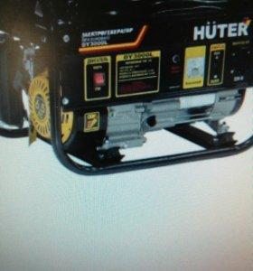 Бензиновый генератор Huter DY3000L 2.5 кВт
