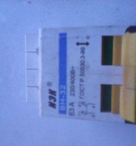 Выключатель ИЭК ВН-32 63А 230-400В