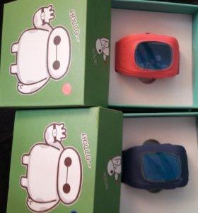 Детские часы-телефон с gps навигацией