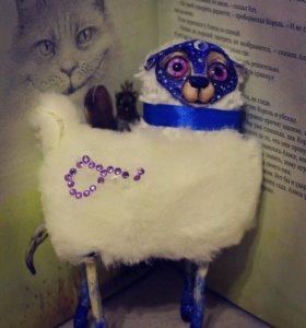 Интерьерная игрушка овечка