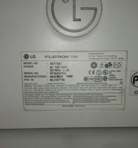 Монитор flatron 775ft