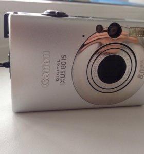 Фотоаппарат Canon IXUS 80 IS