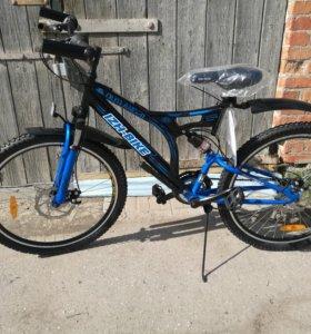 Новый велосипед. Двухподвес. Гарантия.