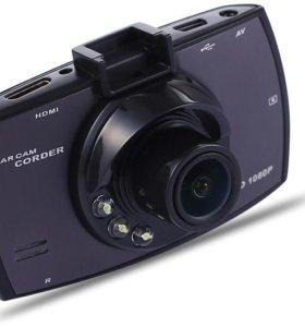 Автомобильный Видеорегистатор GS 9000. Новый
