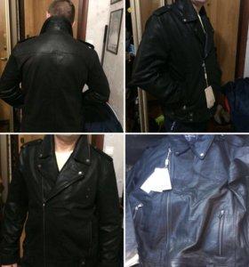 Куртка мужская кожаная ( косуха)