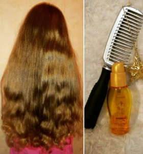 Разглаживающее масло для волос Eleo