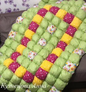 Зефирное одеяло-покрывало