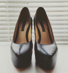 Кожаные туфли Massimo Renne