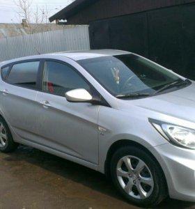 Автомобиль Hyundai Solaris 1.6 л, 123л.с,5 МТ