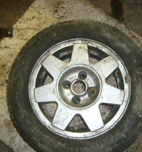 Оригинальные диски r 14 VW passat B 3