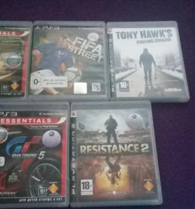 Игровые диски, на PS 3.