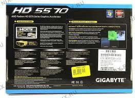 Видеокарта amd radeon  HD5570 1GB 128bit DDR3