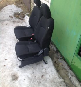 Передние сиденья Mitsubishi ASX