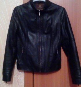 Куртка кож. женская