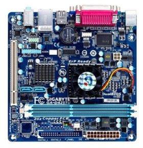 Материнские платы со встроенным процессором Intel
