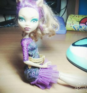 Кукла монстр хай/Monster high/клоудин вульф