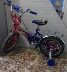 Детский велосипед 4+