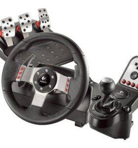 руль игровой Logitech G27 Racing Wheel