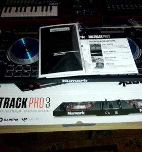 DJ Mixtrack Pro 3 (Numark контроллер)
