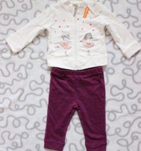 Новый Наборчик из кофточки и штанишек для девочки