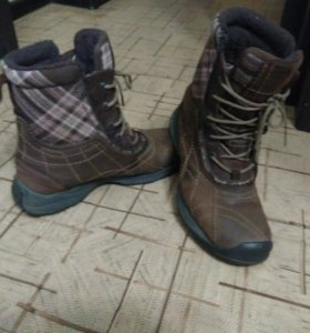 Зимние ботинки columbia omni-grip