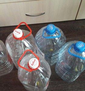 Бутылки из под воды