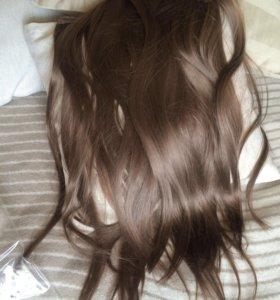 Волосы на застежках