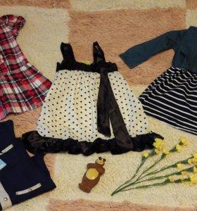 Рост 110 новые платья