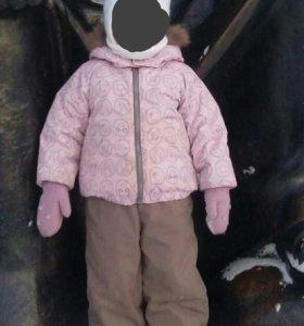 Комплект Lassie 92.Куртка и полукомбинезон