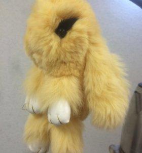 Кролик брелок игрушка