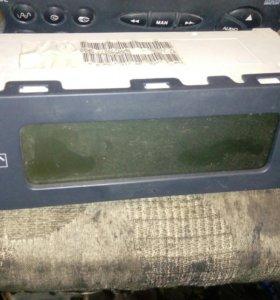 Экран бортового компьютера Citroen C5 1 2001-2004